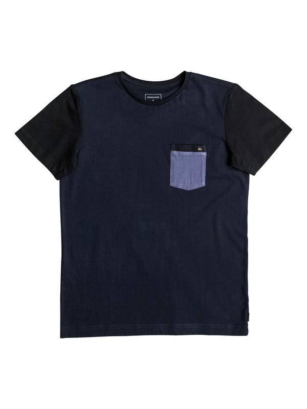 0 Boy's 8-16 Baysic Pocket Tee  EQBKT03099 Quiksilver