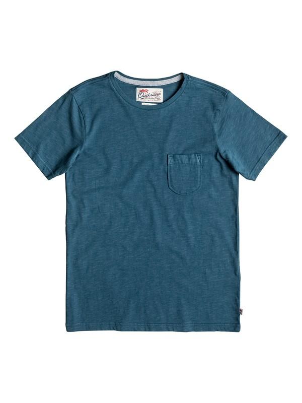 0 Slubstitution - Tee-Shirt Bleu EQBKT03111 Quiksilver