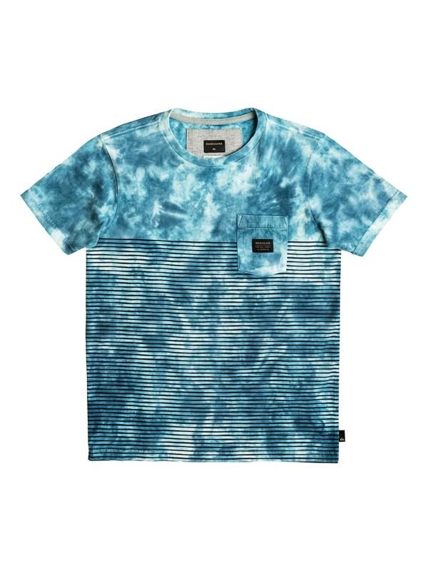 0 Boy's 8-16 X Bloob Pocket Tee  EQBKT03114 Quiksilver