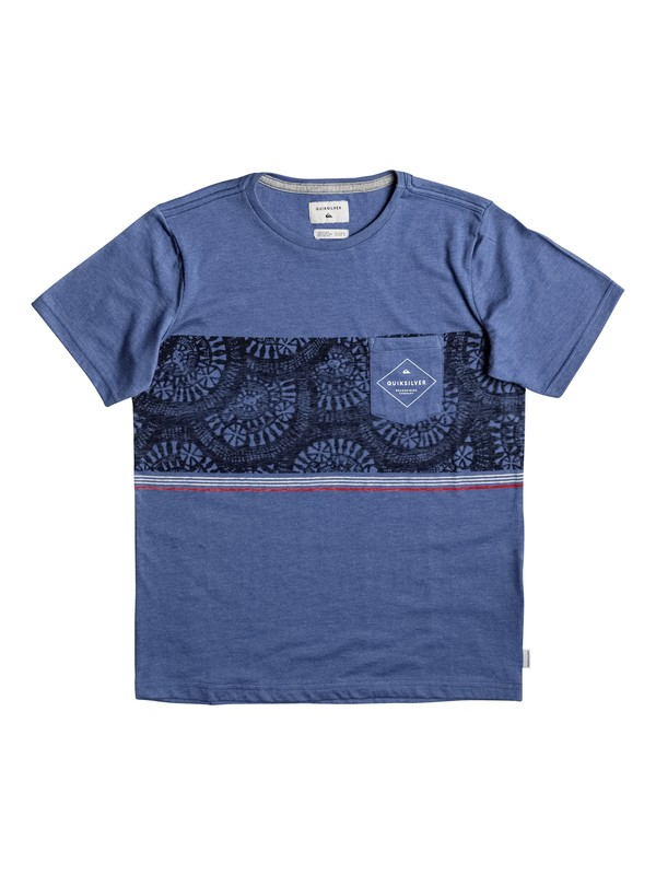 0 Tokanui - T-Shirt Blue EQBKT03135 Quiksilver