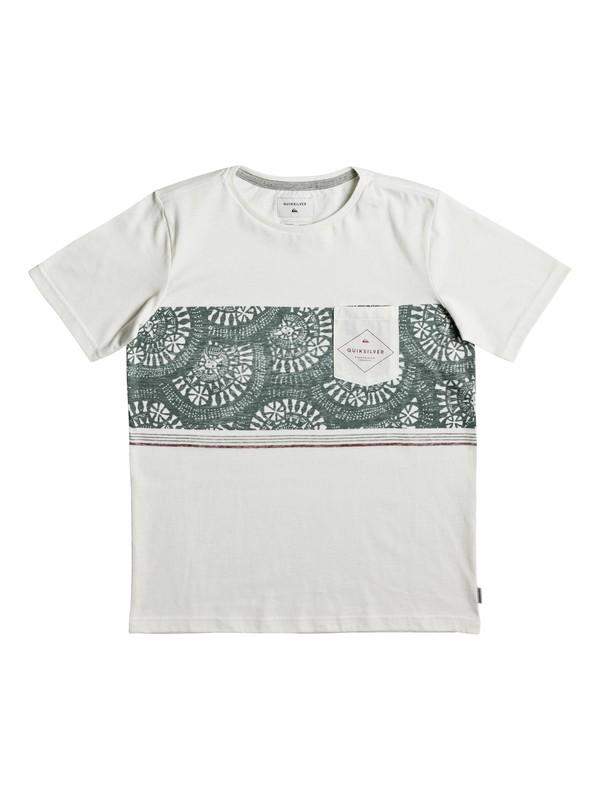 0 Tokanui - T-Shirt Weiss EQBKT03135 Quiksilver