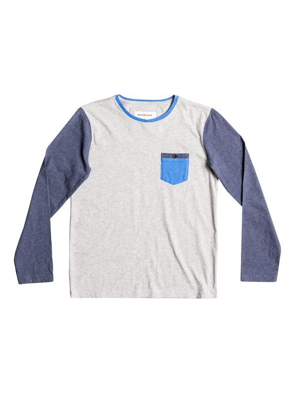 0 Baysic - Long Sleeve T-Shirt Gray EQBKT03136 Quiksilver