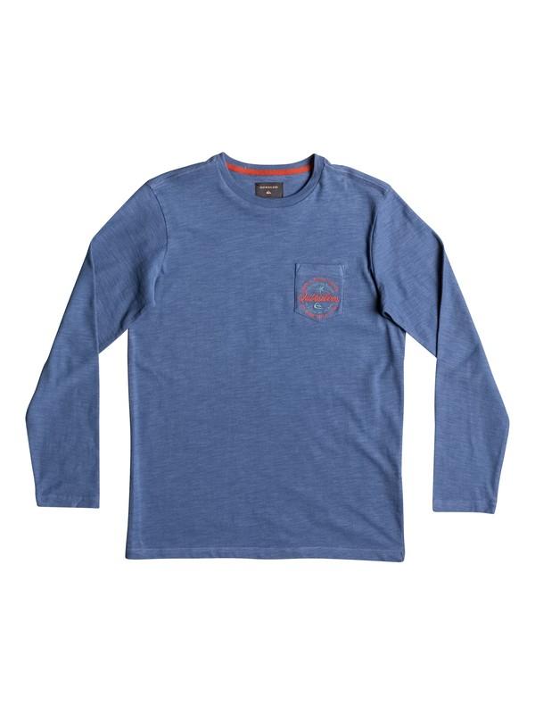 0 Piu Piu - T Shirt à manches longues Bleu EQBKT03139 Quiksilver