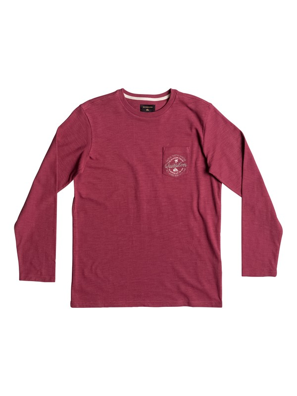 0 Piu Piu - Long Sleeve T-Shirt Red EQBKT03139 Quiksilver