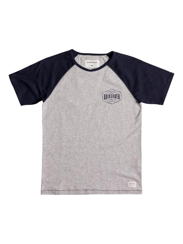 0 Baysic Raglan - T Shirt col rond  EQBKT03148 Quiksilver