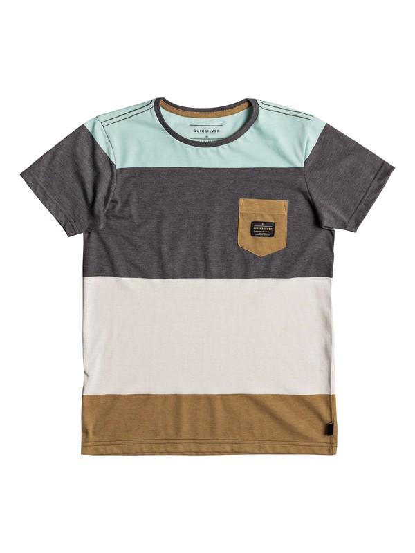 0 Aspenshore - T shirt avec poche Bleu EQBKT03165 Quiksilver