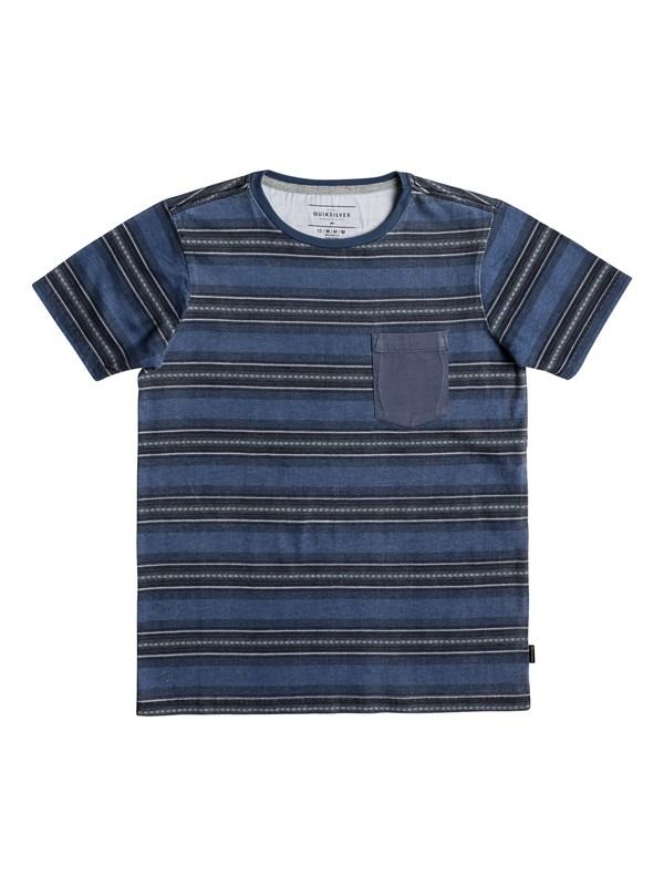 0 Bayo - T shirt avec poche Bleu EQBKT03174 Quiksilver