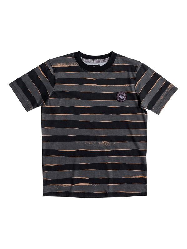 0 Allover Mad - T-Shirt Black EQBKT03176 Quiksilver