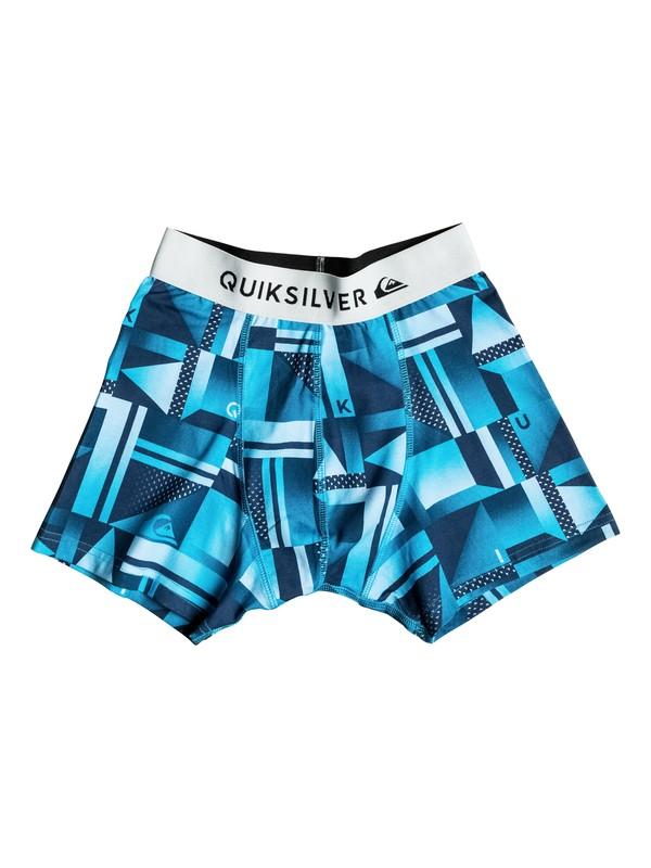 0 Boxer Poster - Boxer Briefs Blue EQBLW03009 Quiksilver