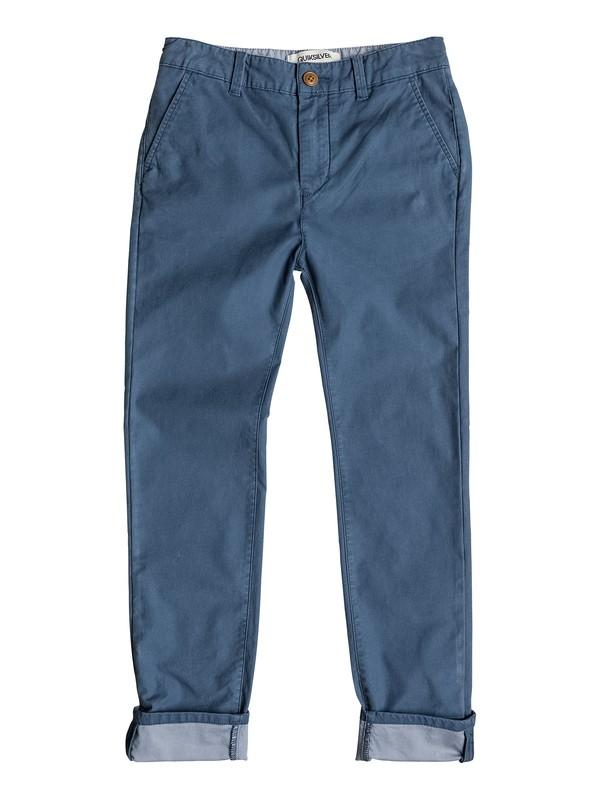 0 Krandy Block Slim - Chino Pocket Pant  EQBNP03032 Quiksilver