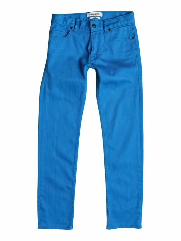 0 Distortion Colors - Slim-Fit Jeans  EQBNP03036 Quiksilver