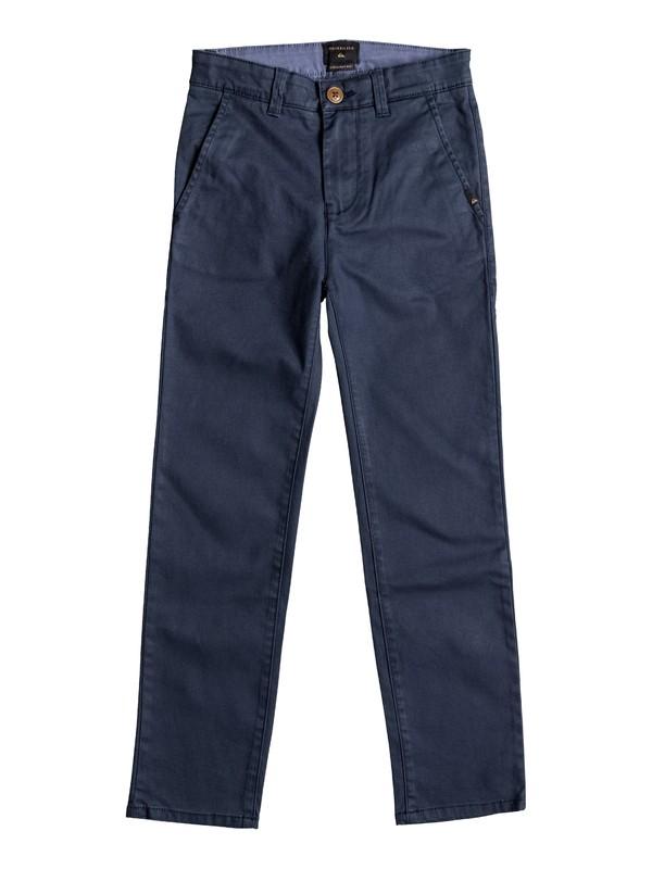 0 Krandy - Pantalon chino Bleu EQBNP03045 Quiksilver