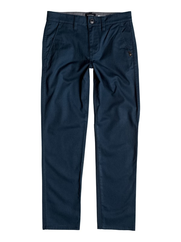 0 Boy's 8-16 Everyday Union Chinos Blue EQBNP03048 Quiksilver