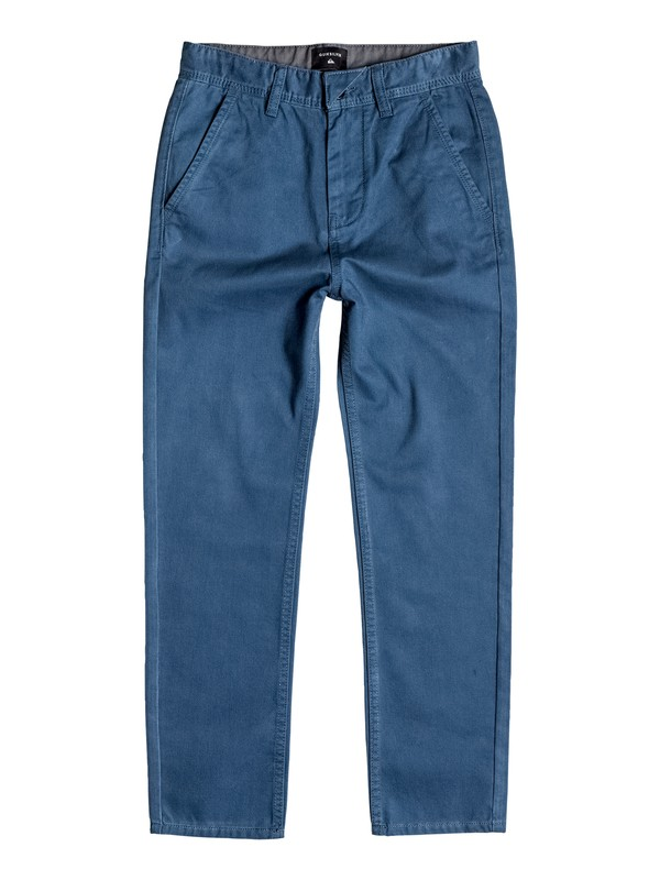 0 Boy's 8-16 Everyday Chinos  EQBNP03049 Quiksilver