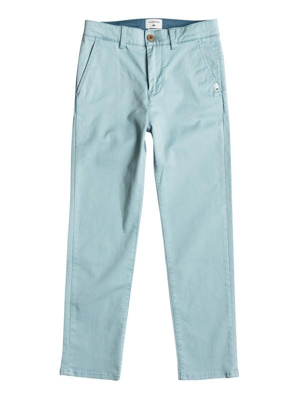 0 Krandy - Pantalon chino Bleu EQBNP03054 Quiksilver