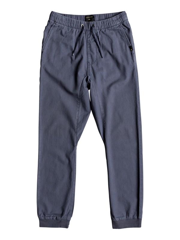 0 Wapu - Pantalon Bleu EQBNP03064 Quiksilver