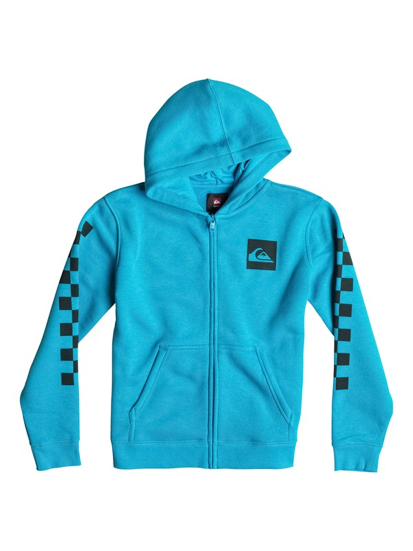 0 Hood Zip Good Youth H6 Bleu EQBSF03023 Quiksilver
