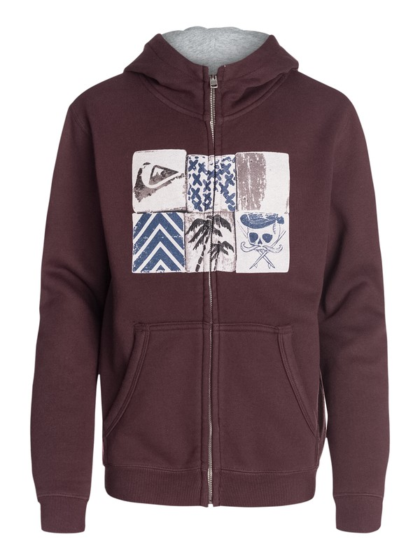 0 Hood Zip Youth A11  EQBSF03057 Quiksilver