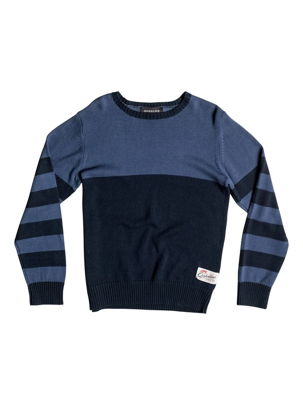 0 Wounded Pride - Sweat Bleu EQBSW03024 Quiksilver