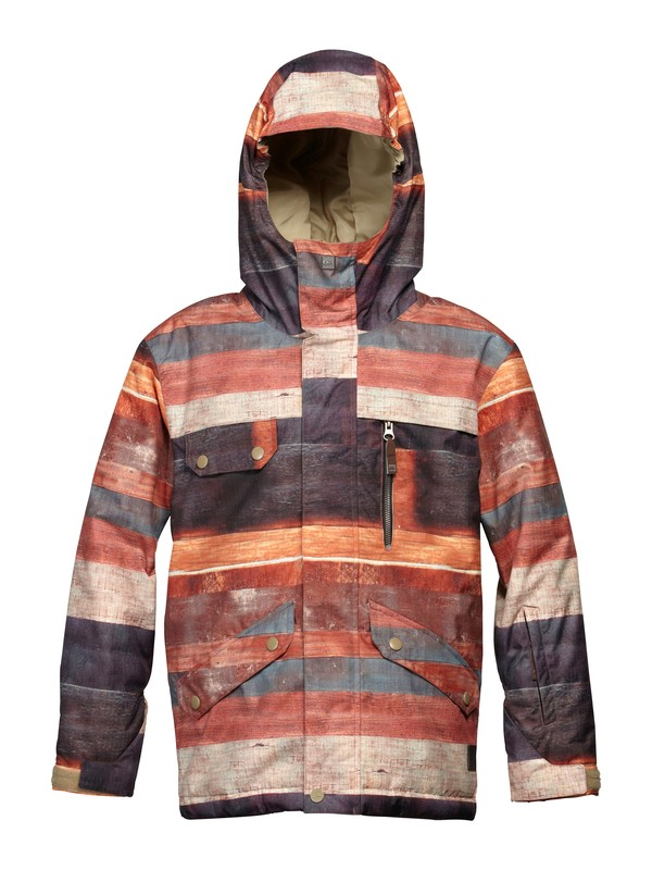 0 Travis Rice Raft 10K Youth Jacket  EQBTJ00017 Quiksilver