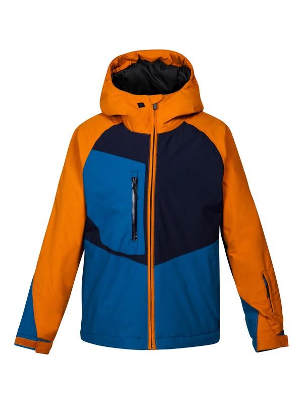 0 Travis Rice Roger That 10K Youth Jacket Orange EQBTJ00020 Quiksilver