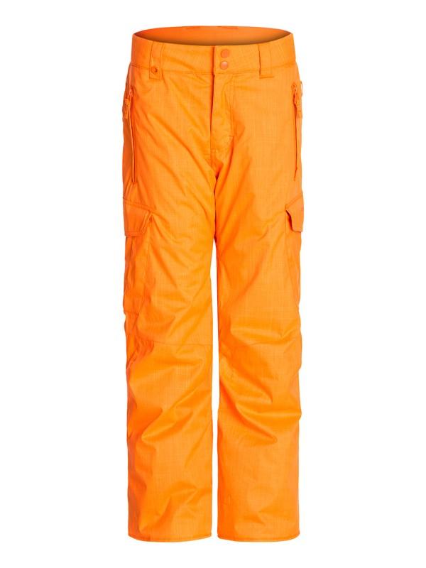 0 Porter 10K Youth Pants Orange EQBTJ00027 Quiksilver