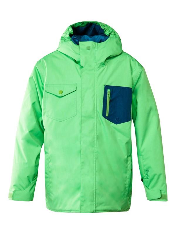 0 Versus 10K Youth Jacket Green EQBTJ00031 Quiksilver