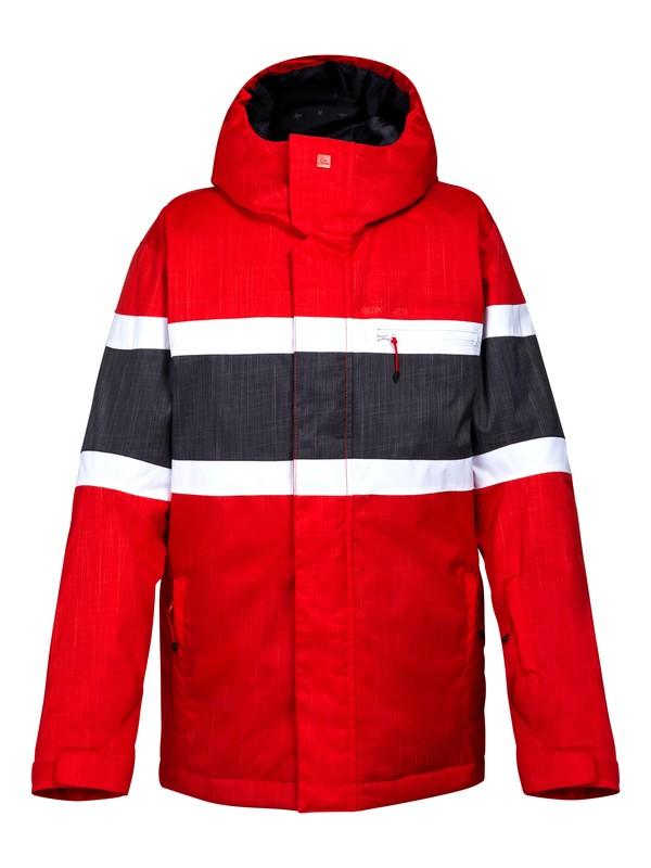 0 Fraction 10K Youth Jacket Red EQBTJ00034 Quiksilver