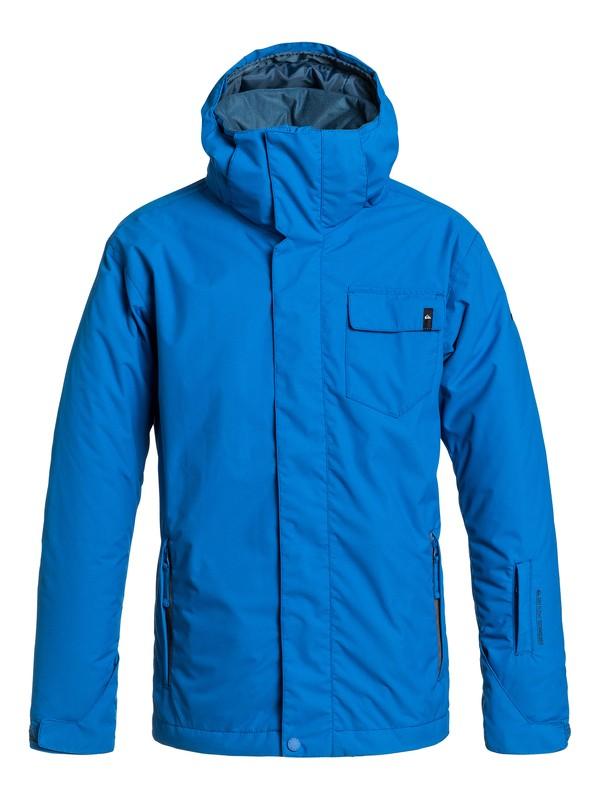0 Boys 8-16 Mission Plain Snow Jacket  EQBTJ03001 Quiksilver