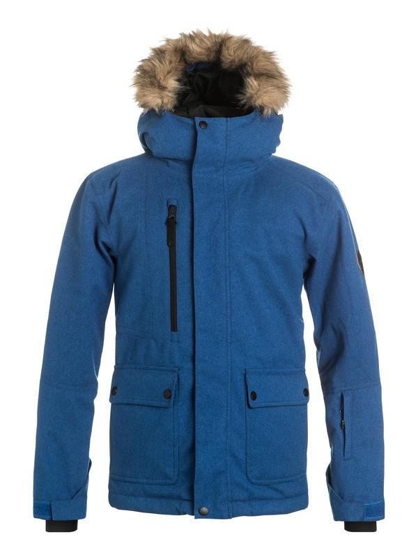 0 Selector - Veste de snow Bleu EQBTJ03030 Quiksilver