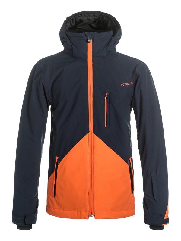 0 Boys 8-16 Mission Colorblock Snow Jacket  EQBTJ03035 Quiksilver