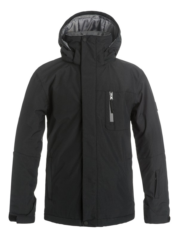 0 Boys 8-16 Mission Solid Snow Jacket  EQBTJ03036 Quiksilver