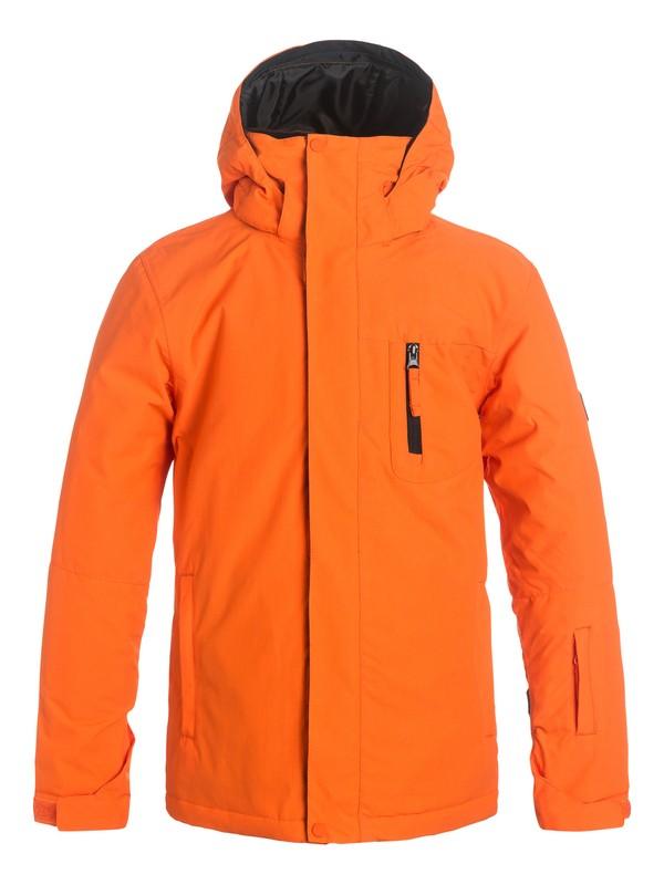 0 Mission Solid - Veste de snow Orange EQBTJ03036 Quiksilver