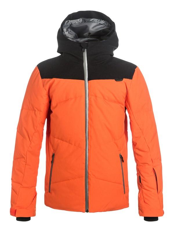 0 Ultimate - Veste de snowboard rembourrée Orange EQBTJ03039 Quiksilver