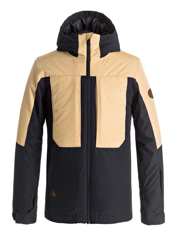 0 Boy's 8-16 Travis Rice Ambition Snow Jacket Yellow EQBTJ03054 Quiksilver