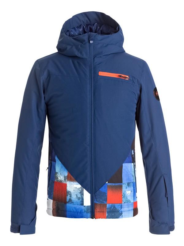0 Suit Up - Snow Jacke Orange EQBTJ03055 Quiksilver