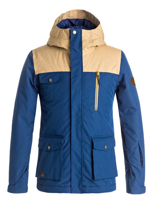 0 Raft - Snow Jacke Blau EQBTJ03056 Quiksilver