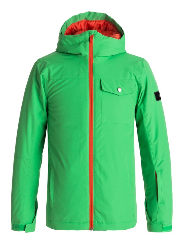 0 Mission - Snow Jacket Green EQBTJ03060 Quiksilver