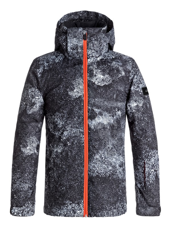 0 TR Mission - Snow Jacket White EQBTJ03063 Quiksilver
