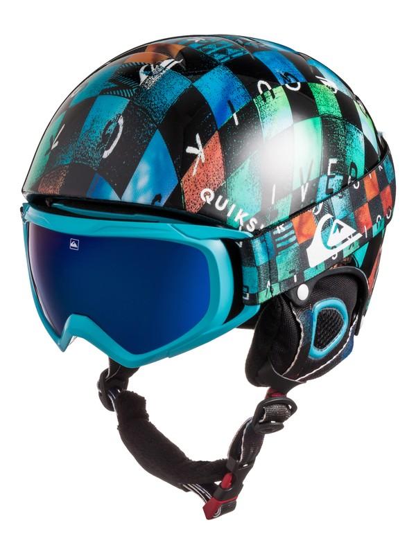 0 The Game - Pack casque et masque de snowboard Bleu EQBTL03001 Quiksilver