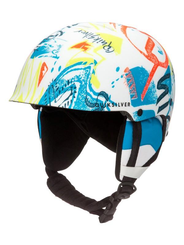 0 Empire - Snowboard / Skihelm Weiss EQBTL03004 Quiksilver