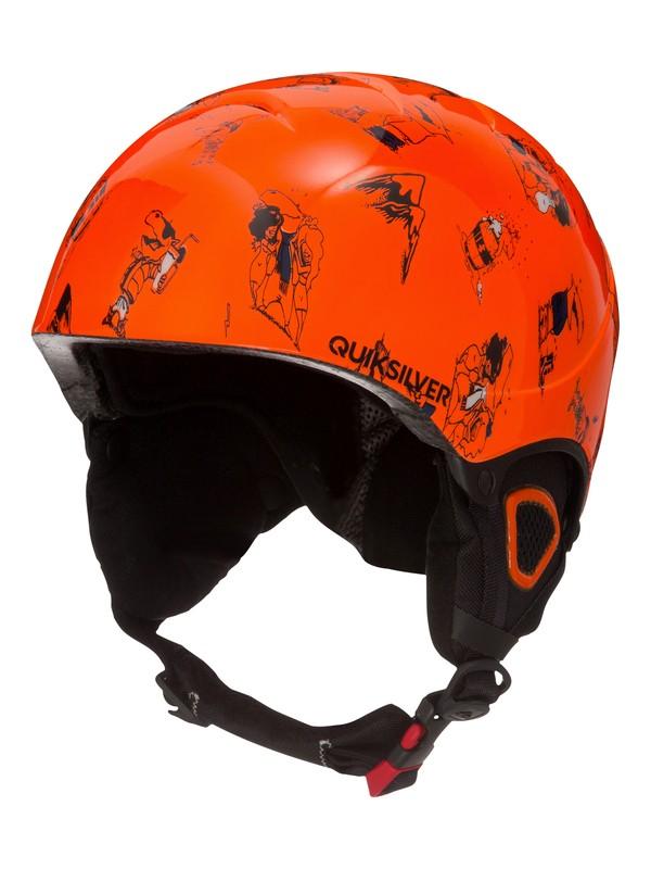 0 The Game - Snowboard- / Ski-Helm Orange EQBTL03005 Quiksilver