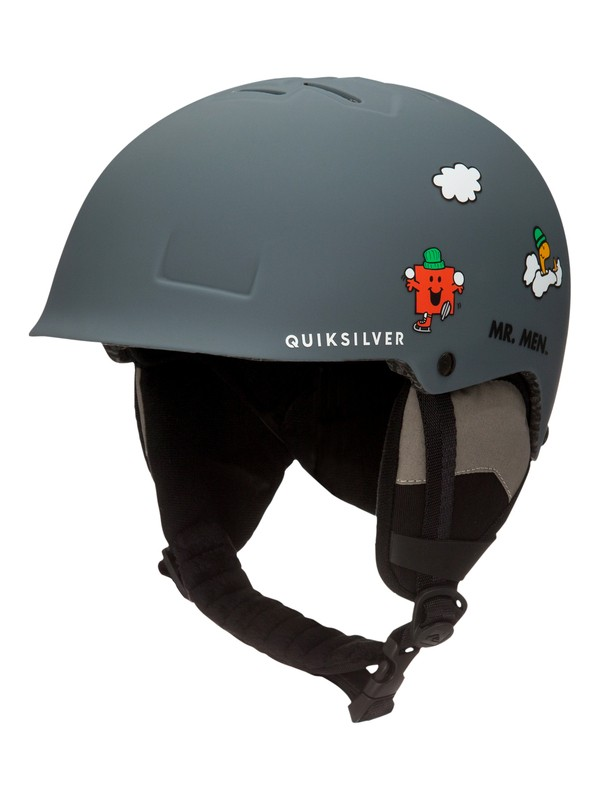 0 Empire Mr Men - Casque de snowboard/ski Noir EQBTL03008 Quiksilver