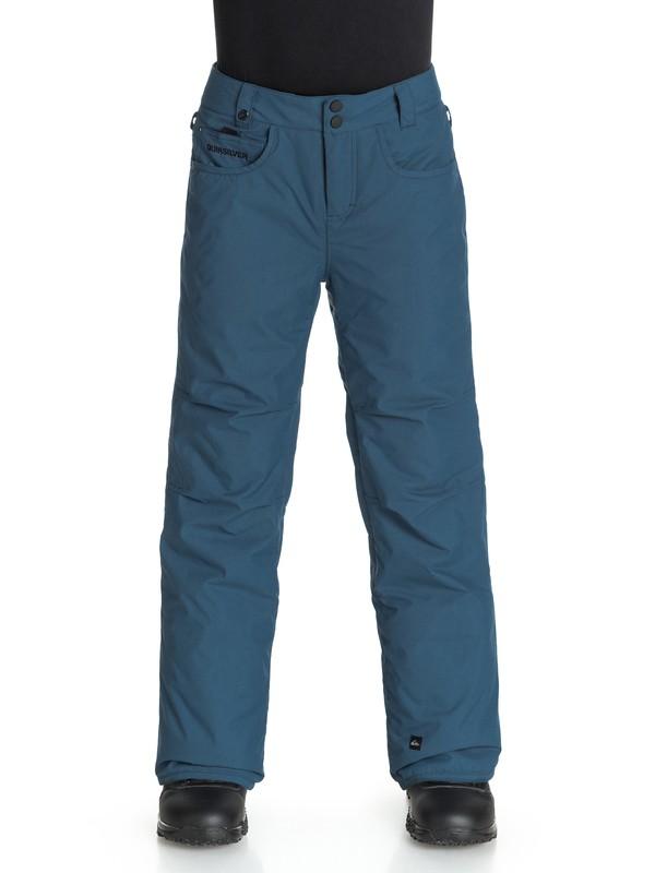 0 Boys 8-16 State Snow Pants  EQBTP03000 Quiksilver