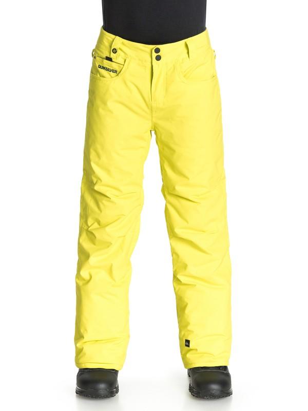 0 State - Pantalon de snow  EQBTP03000 Quiksilver