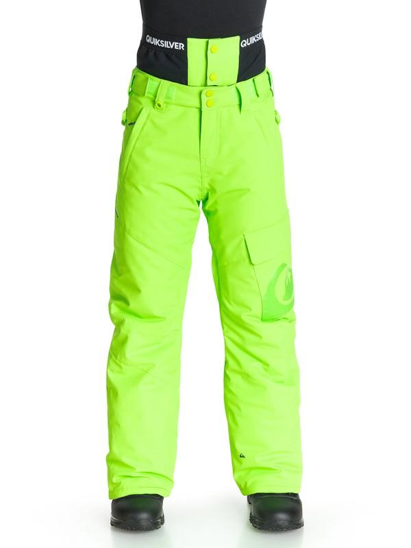 0 County - Pantalon de snow  EQBTP03001 Quiksilver