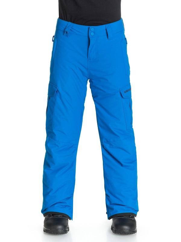 0 Boys 8-16 Mission Snow Pants  EQBTP03002 Quiksilver