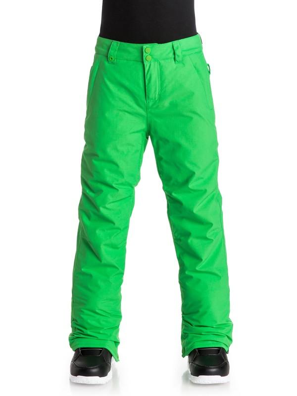 0 Estate - Pantalon de snow Vert EQBTP03009 Quiksilver