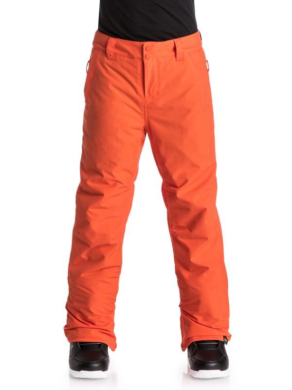 0 Estate - Pantalon de snow Orange EQBTP03009 Quiksilver