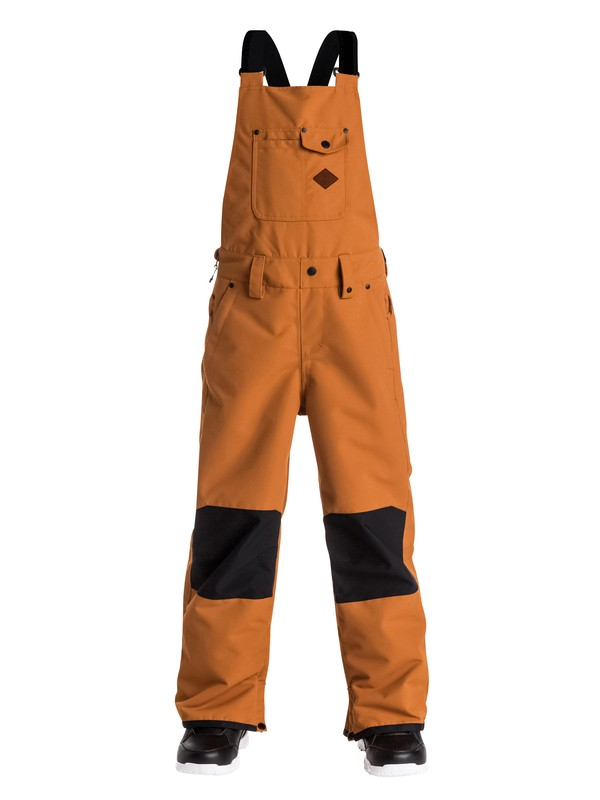 0 Boys 8-16 Found Bib Snow Pants  EQBTP03010 Quiksilver